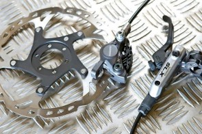 Shimano's SLX M675 give outstanding reliability and control in all conditions