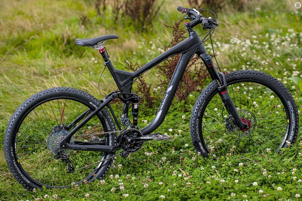 The Marin Attack Trail XT8's enduro credentials are undermined a little by sizing and geometry