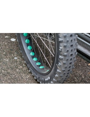 Aggressively drilled rims work to save rotational weight