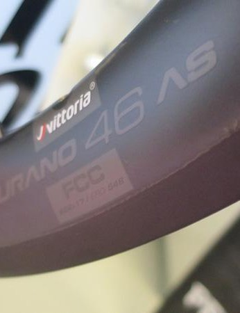 Vittoria's tests show a 10 percent increase in heat dissipation with its graphene-infused rims