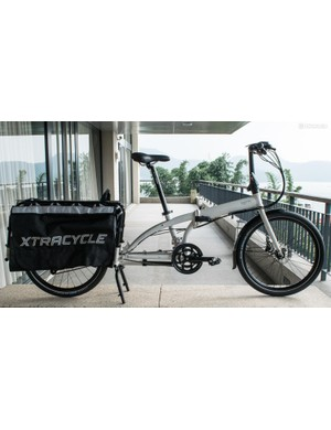 The Tern Cargo Node is a cargo bike that folds