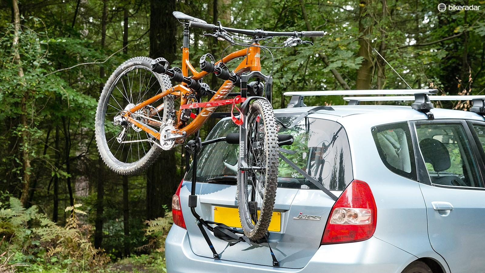 Rear Mount Holder FORD GRAND C-MAX 10-ON 3 Bike Carrier Car Triple Cycle Rack