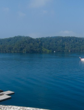 Sun Moon Lake is gorgeous on a good day
