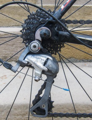 Shimano Tiagra is solid stuff. That jockey wheel could take your eye out!