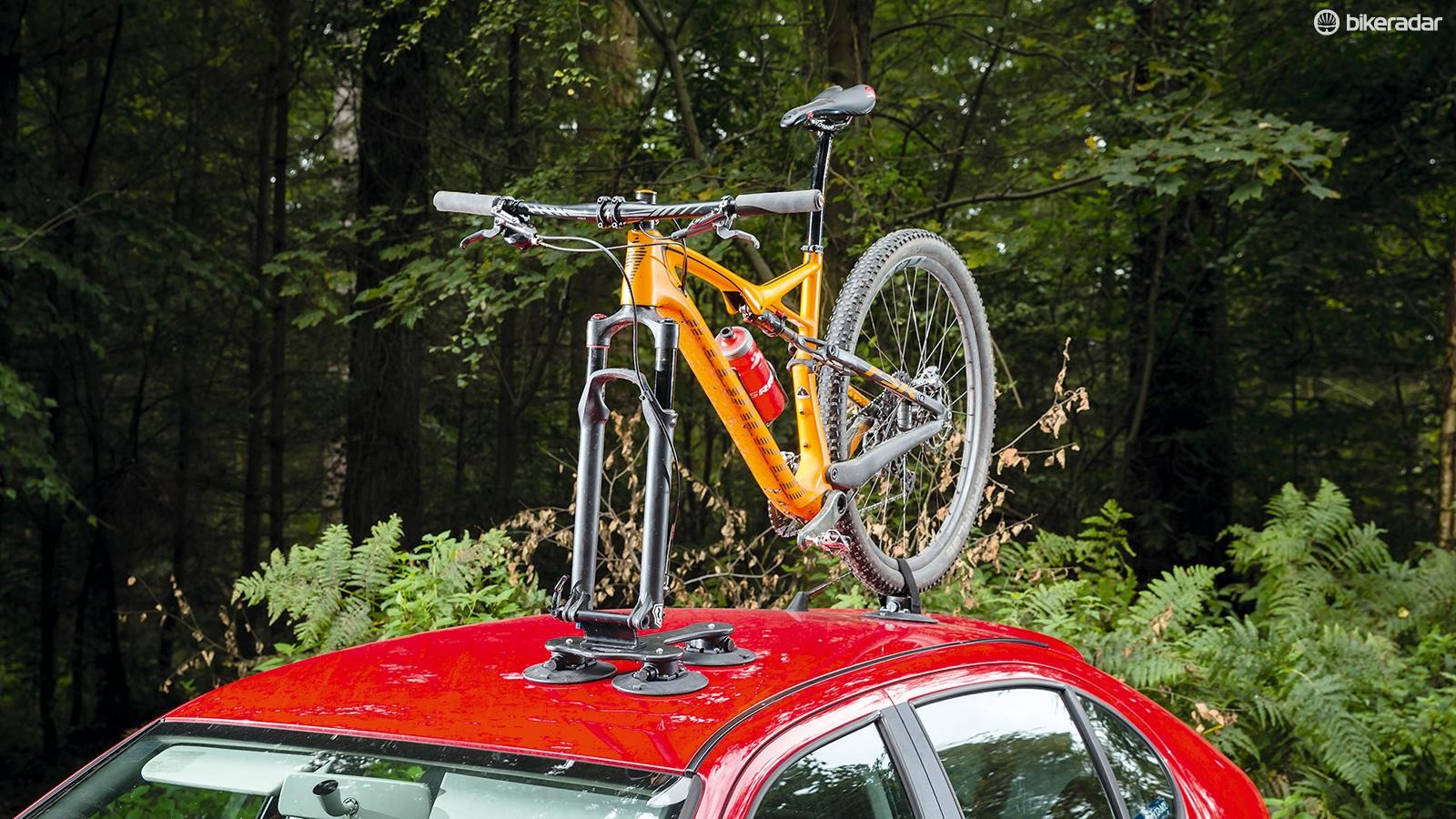 Seasucker's Talon roof rack holds tight to your car