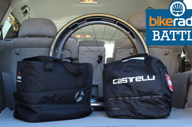 BikeRadar Battle: Which is the better race bag, Castelli or Bontrager?