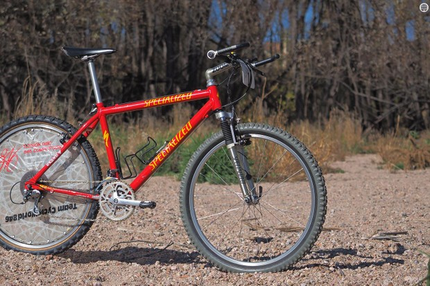 Mountain bike legend Ned Overend was on top of the world with this Specialized S-Works M2 back in 1992. More than two decades later, he's still schooling racers half his age (on a modern bike)