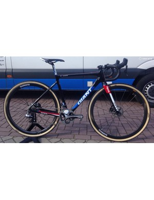 "At 5'7"" (169cm) Van der Haar rides a size small TCX Advanced Pro with a 90mm stem and 42cm wide bars"