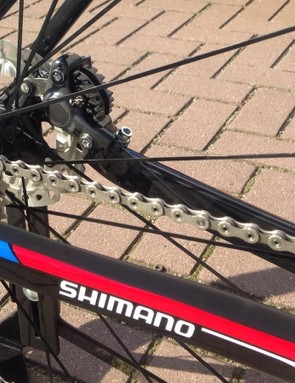 The 2016 TCX Advanced Pro features a redesigned rear triangle that uses a 142x12mm thru-axle