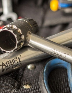 Just about anything from Abbey Bike Tools would make a nice gift to an enthusiast mechanic. That said, the Crombie Tool is what started the company, and continues to be the iconic product