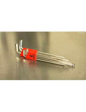 Want the best set of the hex keys on a budget? My pick is the Bondhus BriteGuard Extra-long ball ends (PN#: 17099)