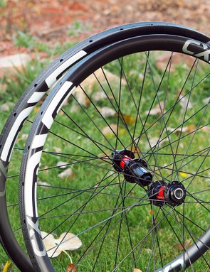 Enve's new CX wheelset is purpose-built for cyclocross with a specific rim shape and lay-up just for higher-volume tyres and rough terrain
