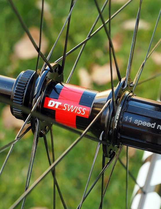 Enve is offering its new CX wheelset with DT Swiss or Chris King hubs. The rims will be available separately as well