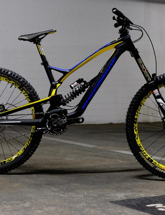 Nukeproof's Pulse Team DH bike 2016 is slacked out to 62 degrees
