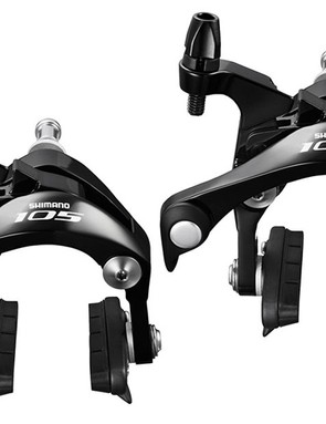 Shimano 105 black brakes