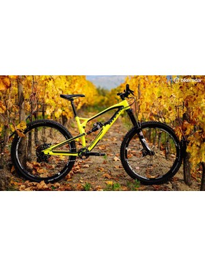 The Nukeproof Mega has been overhauled for 2016 and now comes with 650b (or 27.5in) or 29in wheels