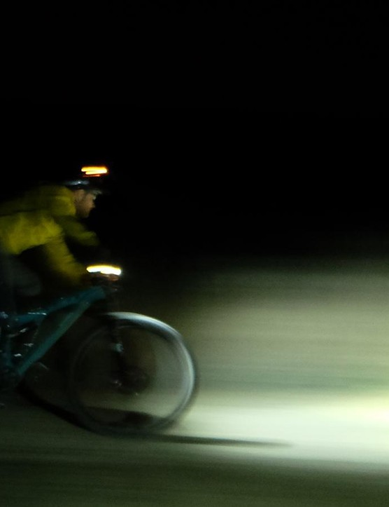 Night riding makes old trails feel new and lengthens your riding season