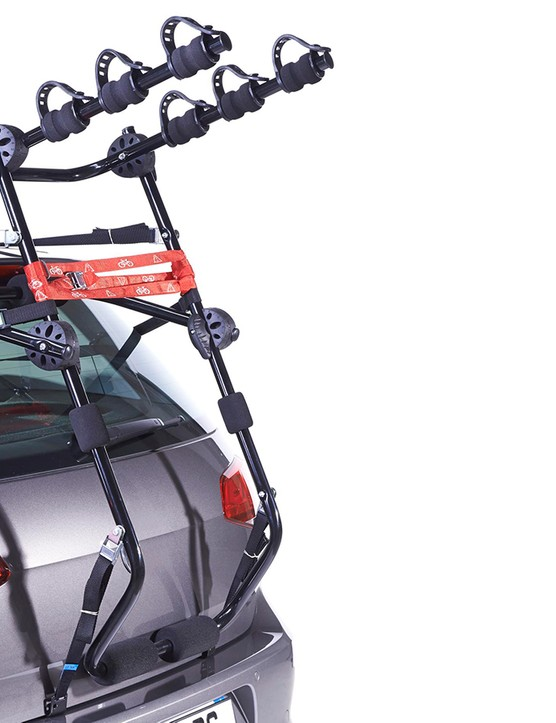 Halfords Rear High Mount 3 bike rack