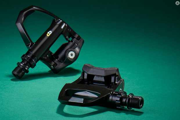 Boardman's Road Team Pedals won't stay looking like this for long, but the important parts are nice and sturdy