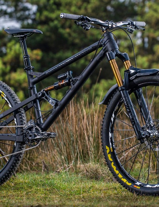 The GeoMetron plays fast and loose with the mountain bike design handbook