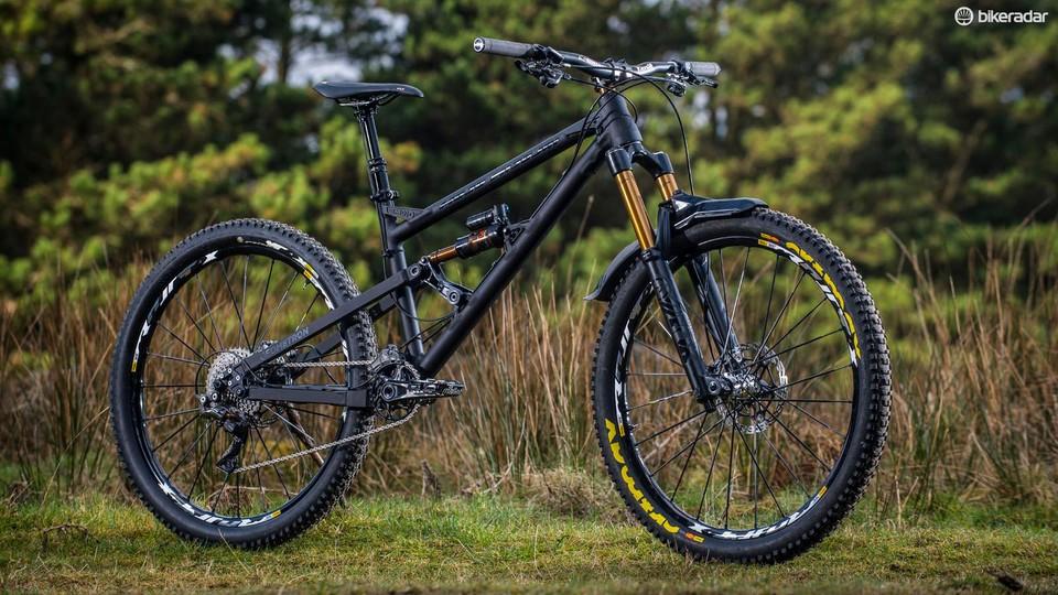 Mojo/Nicolai's GeoMetron plots a future for mountain bike