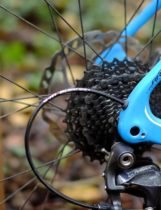 The 142x12mm Maxle rear end is a part commonly used in mountain bikes