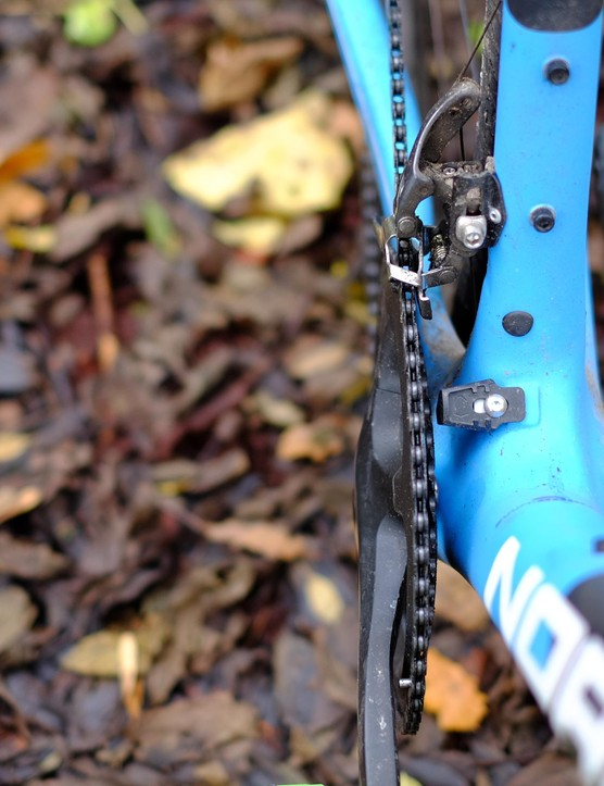 This integrated chain catcher is a sensible addition from Norco
