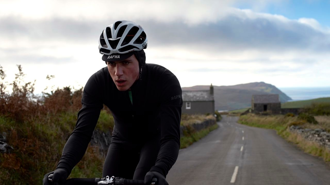 The Rapha Pro Team Thermal Aerosuit thumbs its nose at wintry wind