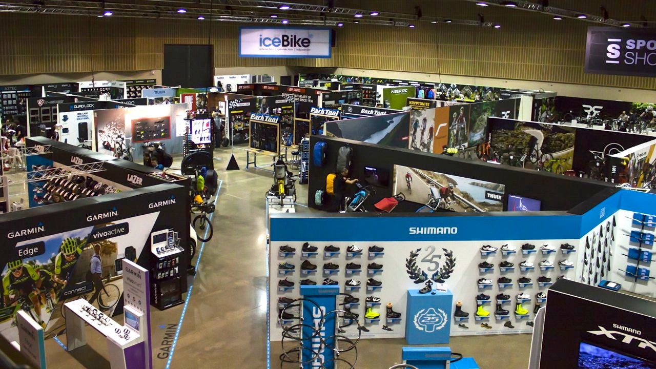 More than 50 popular cycling brands will be at iceBike* – will you?