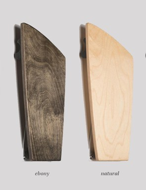 It's available in a natural finish, or three stained versions
