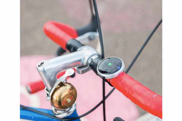 Described as a compass for urban cyclists, Haize is a simple LED device that guides cyclists to their destination