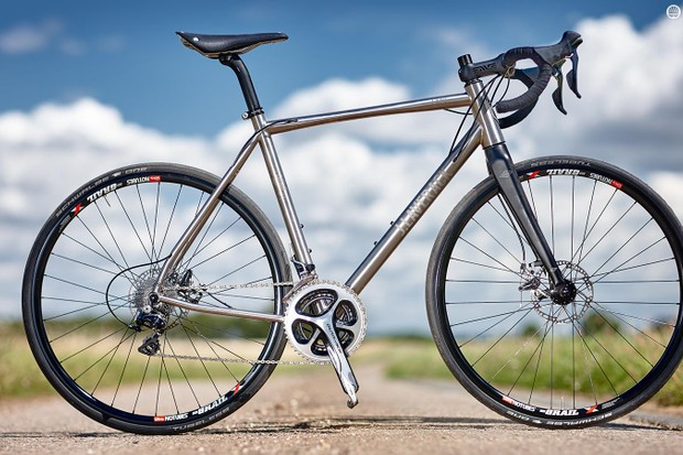 Our test bike came with Dura-Ace kit, TRP Spyre brakes and Stan's NoTubes rims, but numerous options are available