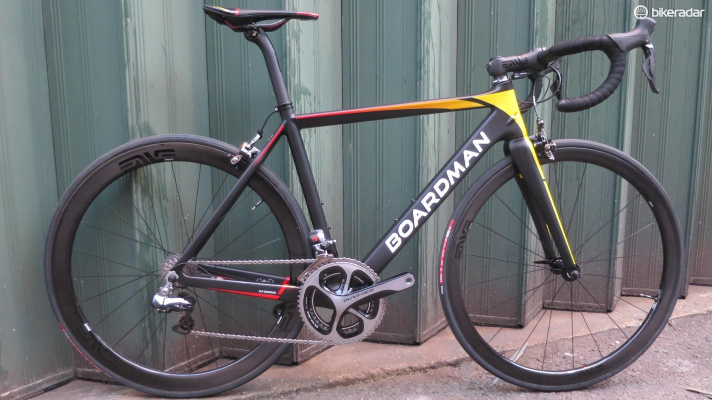 Boardman's new SLR Race Signature weighs a feathery 6.45kg