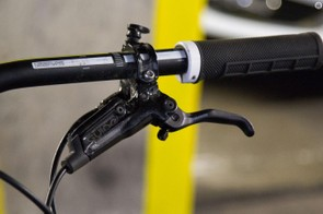 Fitted with Sintered pads, the Guide RS brakes performed brilliantly in throughout