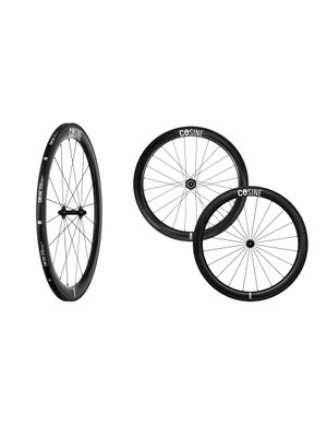 The Cosine carbon clincher wheelset with 55mm rims is aimed at racers and time-triallists