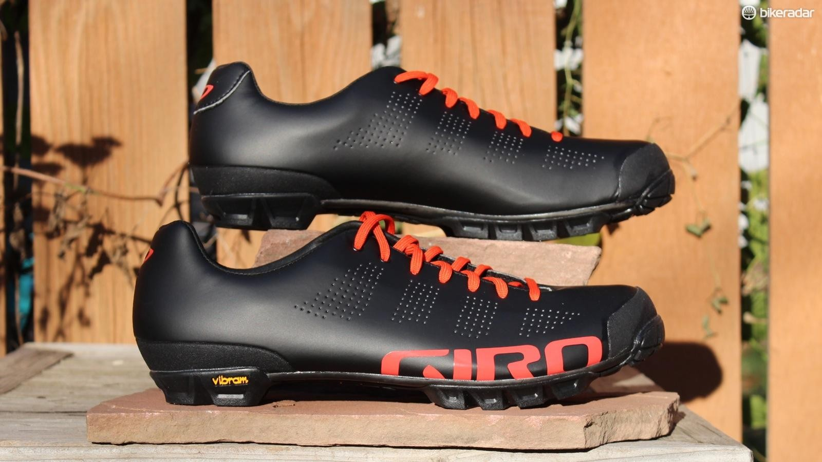 The Giro Empire VR90 lace-up mountain bike shoes