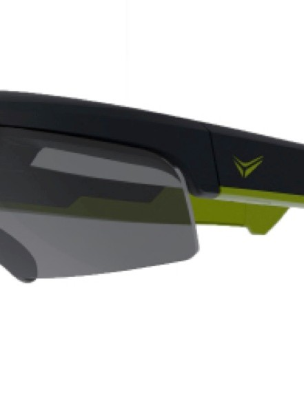 The Everysight glasses have a streamlined aesthetic similar to existing sports glasses