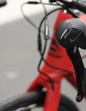 No series branding on these new RS-505 brake levers