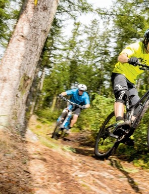 The Following carves and carries speed like only a super-stiff, super-low 29er can –but more so