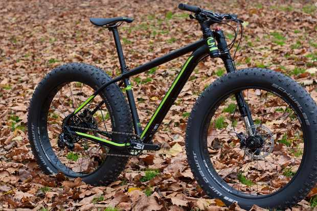 The Fat CAAD is Cannondale's debut into the fat bike market