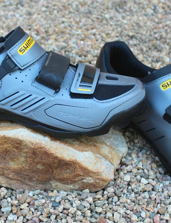 The 25th anniversary edition of the Shimano M163 trail shoe