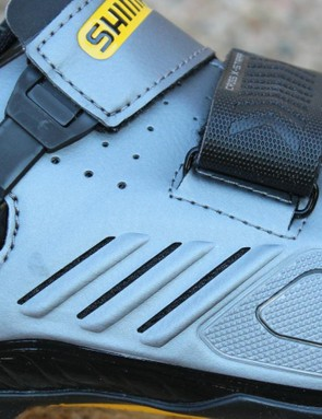 TORBAL is Shimano's term for torsion/balance and refers to the shoe's torsional flex