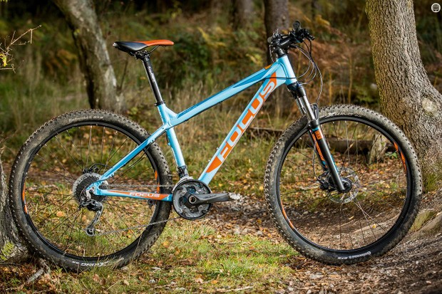 Focus's Whistler Lite 27 looks burly but has a soft centre