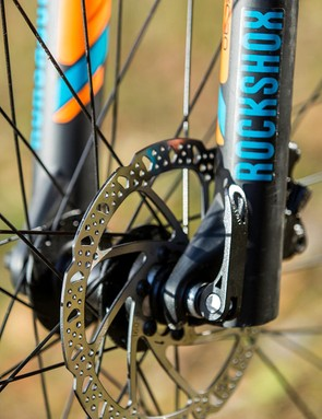 As its name suggests, the RockShox XC 30 fork is more cross-country than trail oriented