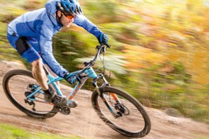 Hard-compound Continental X-King treads roll fast and last well but soon hit their traction limits off road