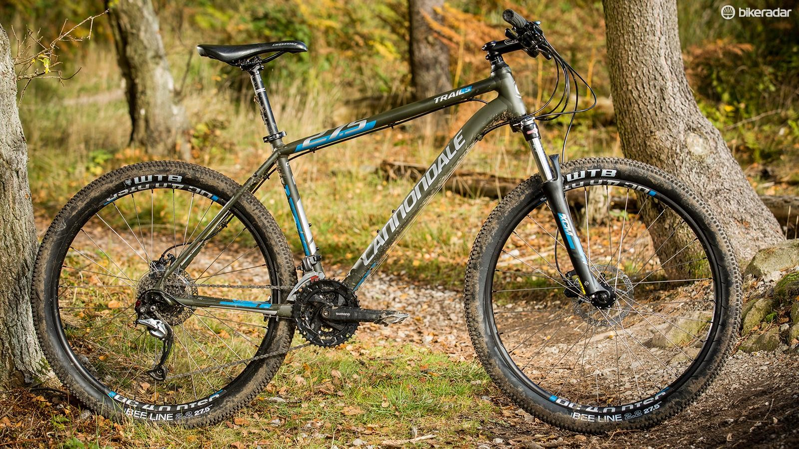 At the heart of Cannondale's Trail 5 lies a classy chassis