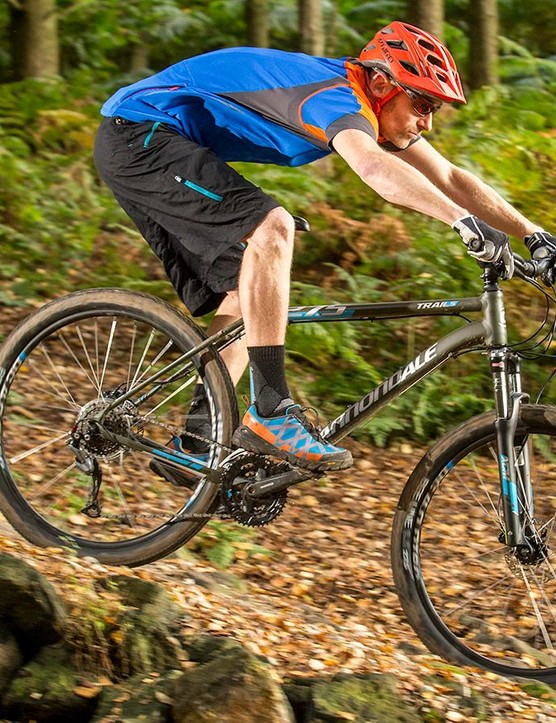 The smooth-riding Trail 5 does a great job of shrugging off lumps and bumps
