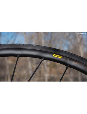 Mavic's latest machining processes yield an admirably elegant-looking rim