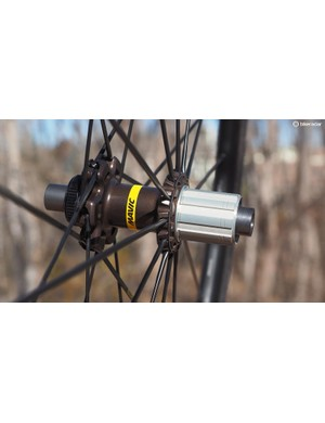 Freehub engagement is roughly twice as fast as on the older Mavic FTS-L rear hubs