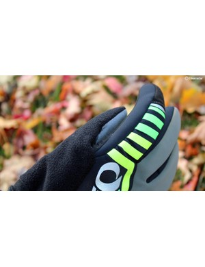 What winter glove would be complete without a snot wipe?